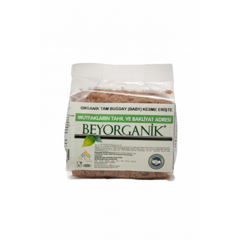 Organic Whole Wheat (Baby) Cut Noodle-250g