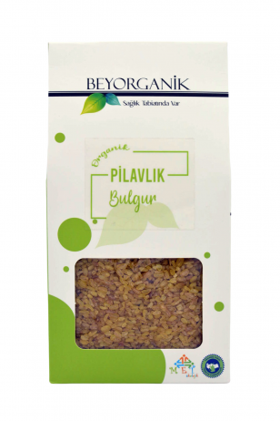 BEYORGANİK Bulgur for Coarse-450gr (Box)