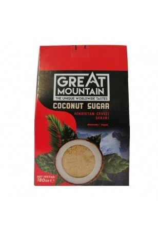 Great Mountain Hindistan Cevizi Şekeri, 180 gr