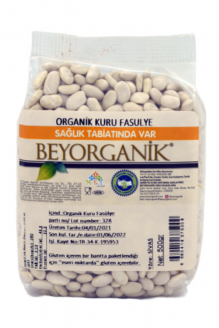 BEYORGANİK Dried Beans (sugar) 500gr