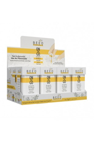 BEE`O Propolis On the Go 12`li Kutu