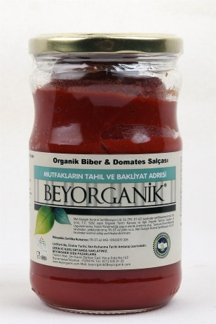 BEYORGANİK Tomato and Pepper Paste-660gr